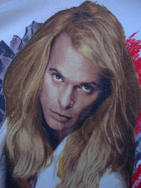 David Lee Roth Shirt Rare Vtg T Shirt 1991 A Little Ain T Enough World Tour Concert Tee 1990s American Hard Rock Concert Tees Metal T Shirts Heavy Metal Music