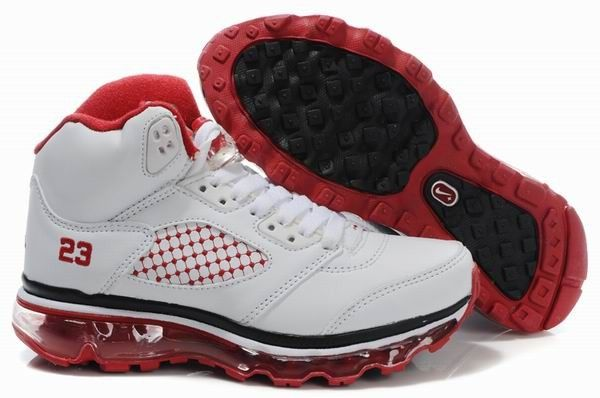 outlet store be2bc 597b9 Jordan 5 Air Max Fusion White Red Black! 75.10USD
