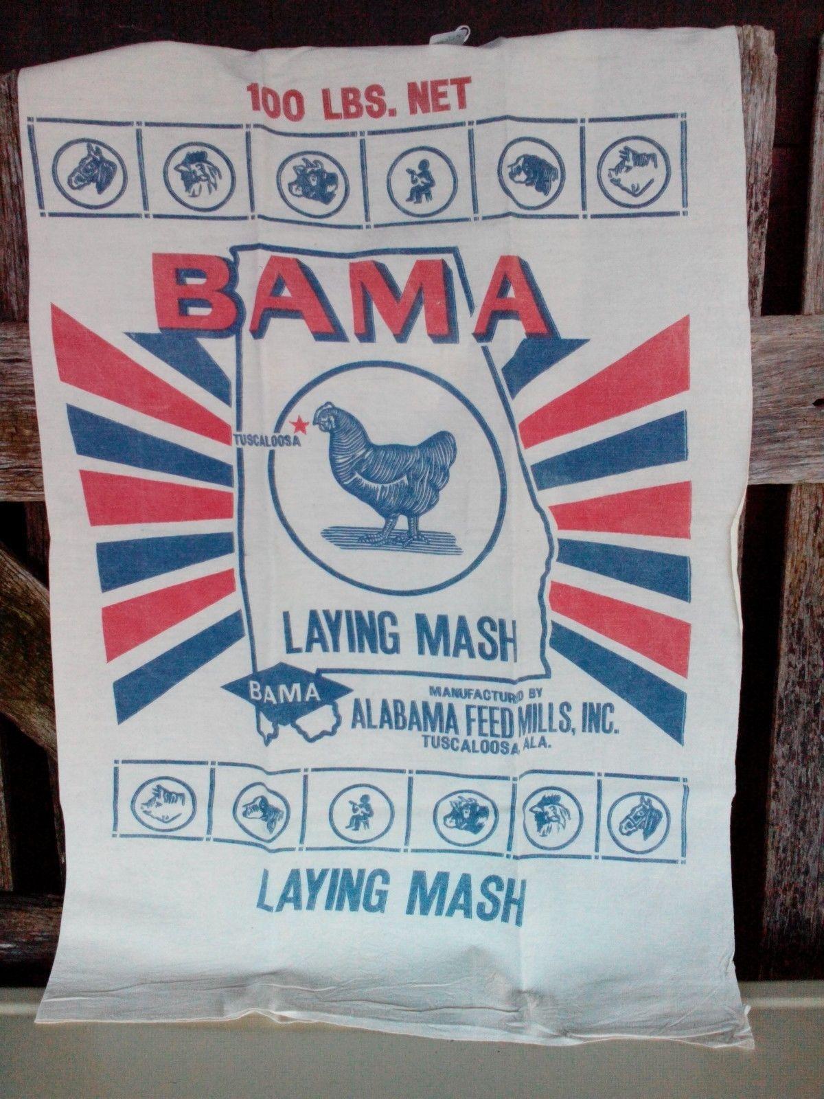 Bama Laying Mash Alabama Feed Mills Inc Tuscaloosa Alabama