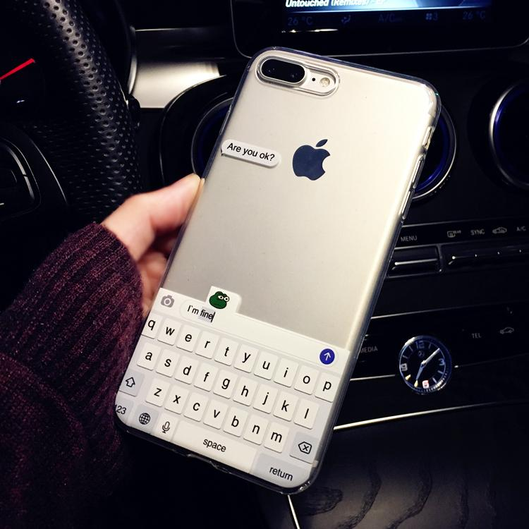 coque iphone 7 weird