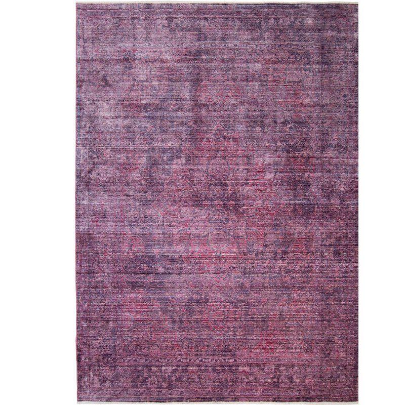 Artisan Mauve Area Rug Area Rugs Nicole Miller Purple Area Rugs