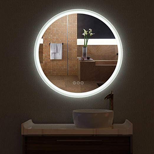 the most sexiest wall mounted mirrors with led lighting change it rh pinterest com