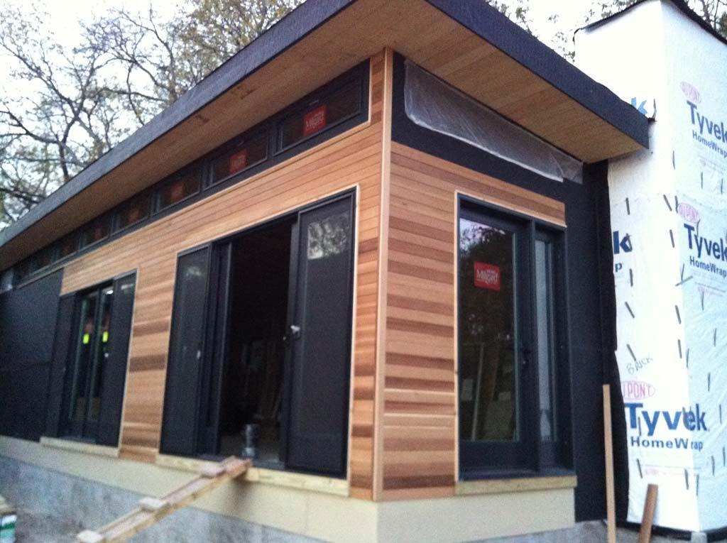 Modern Vinyl Home Siding Google Search Prefabricated Houses Small House Design Exterior Cedar Siding
