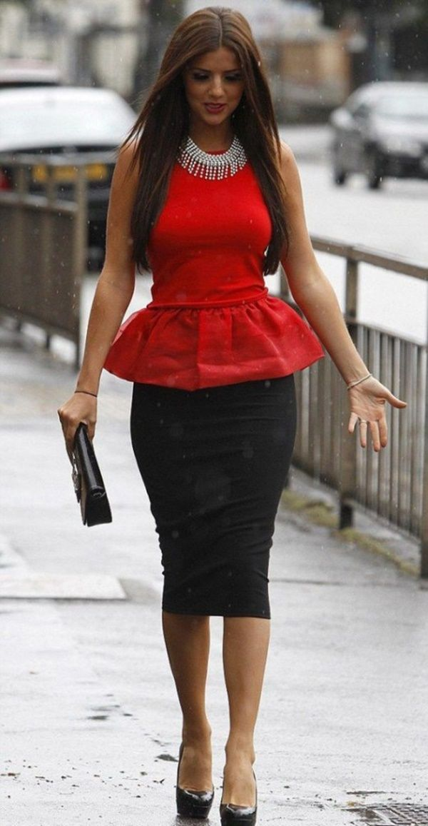 RED IS HOT || #Spring #BusinessAttires #WorkOutfits #NonBoring || 45 Charming Spring Work Outfits To Wear To Office || Casual Work Outfits Ideas || Spring Work Outfits || Business Attires for Women || Cute Spring Outfits