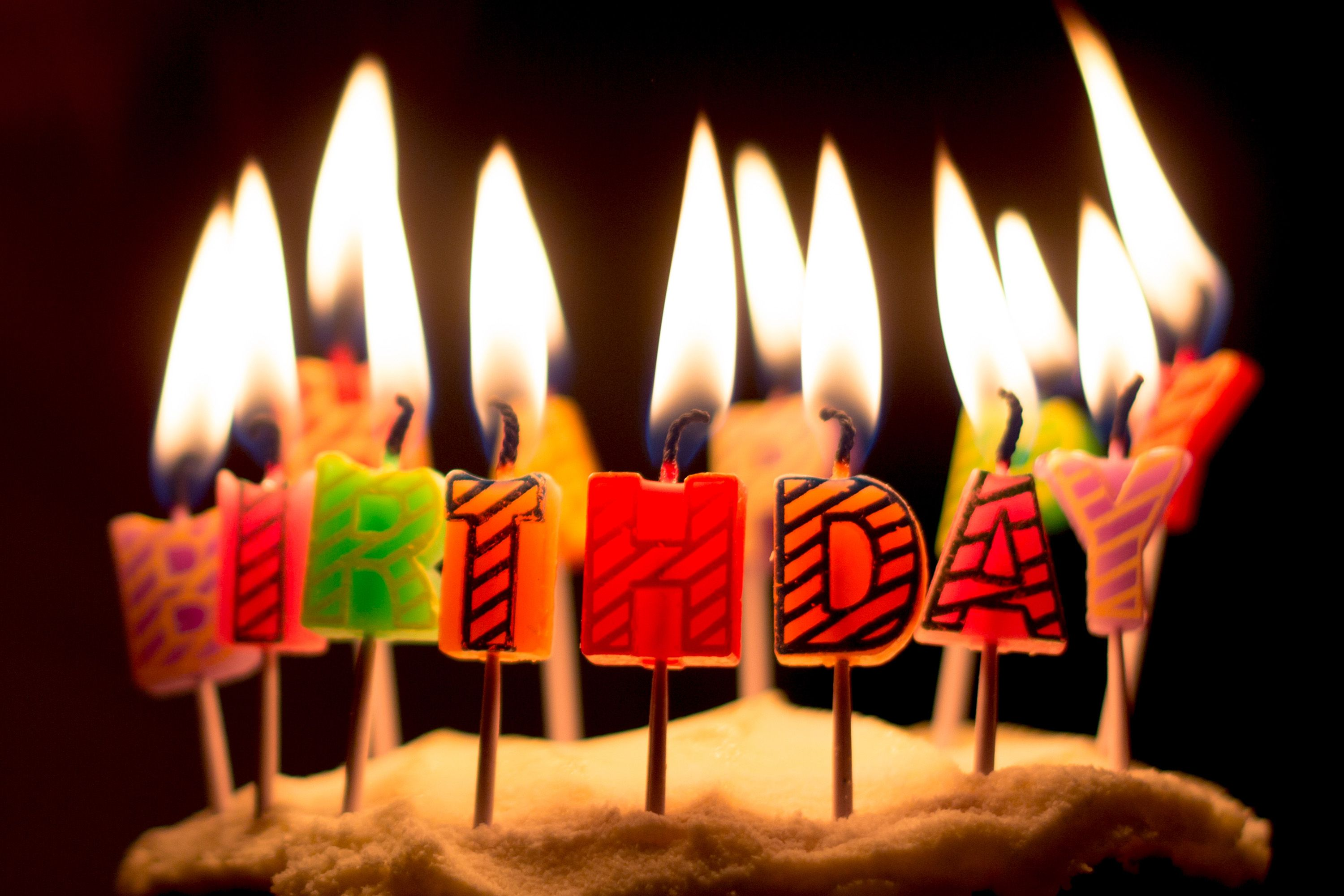 25 Beautiful Photo Of Birthday Cake Candle Candles Free Iso Republic