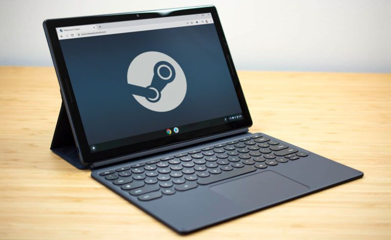 Google And Valve Are Bringing Steam To Chromebooks And It S All Thanks To Linux In 2020 Game Store Chromebook Steam