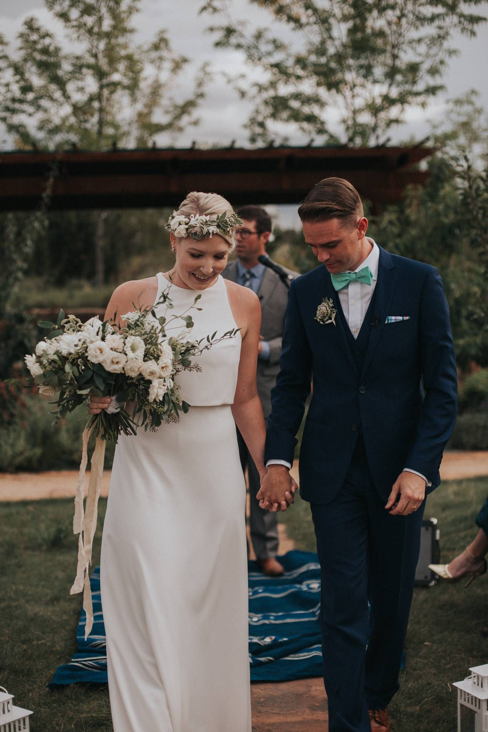 3494c6ca275 Santa Fe Botanical Garden Wedding    Amy   Patrick via Rocky Mountain Bride     Cork Creative  RenegadeFloral