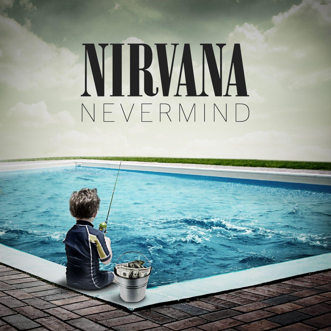 nirvana album cover letters nirvana album cover