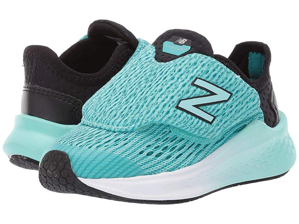 d82ca14c03a0d New Balance Kids Fresh Foam Fast (Infant/Toddler) Girls Shoes Black/Tidepool