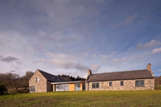 farmhouse exterior by drbarbour photography - Stone Farmhouse Exteriors