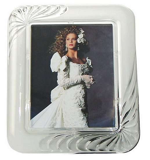 Beautiful Mikasa Mystique 8 X 10 Inch Crystal Picture Photo Frame New With Tag Photo Frame Glass Photo Frames Picture Photo
