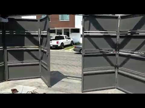 Puerta Plegadiza Con Motor Merik 7511 Y Merik 711 Youtube Home Rent Puertas
