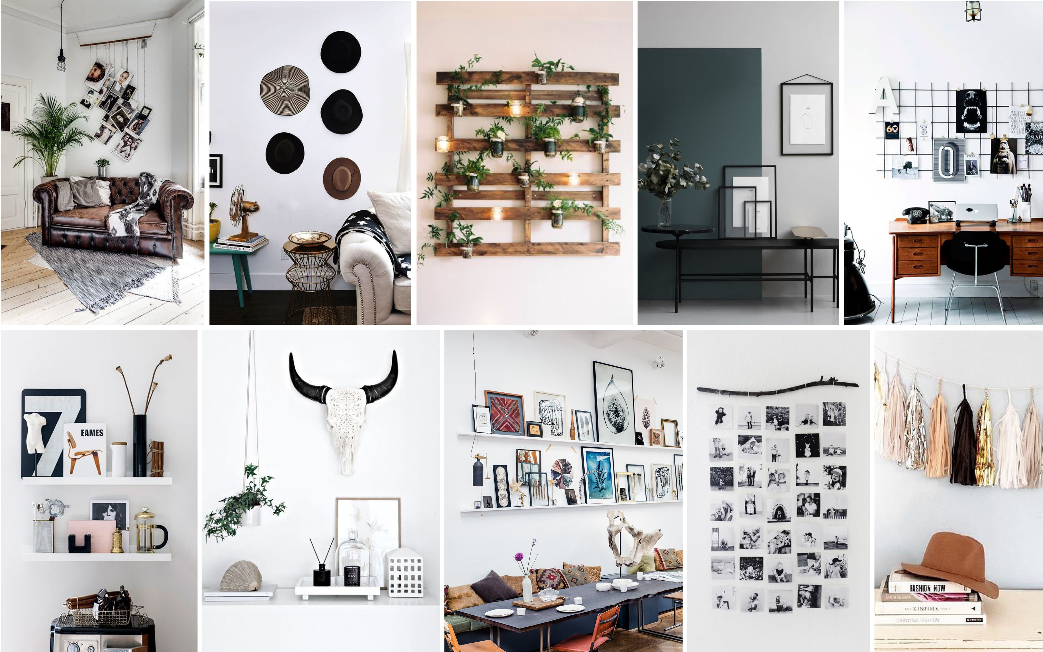 100 Remarquable Suggestions Habiller Un Mur Blanc Chambre