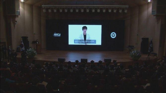 Jin of BTS, Chen of EXO graduated from Hanyang Cyber University - küchen u form