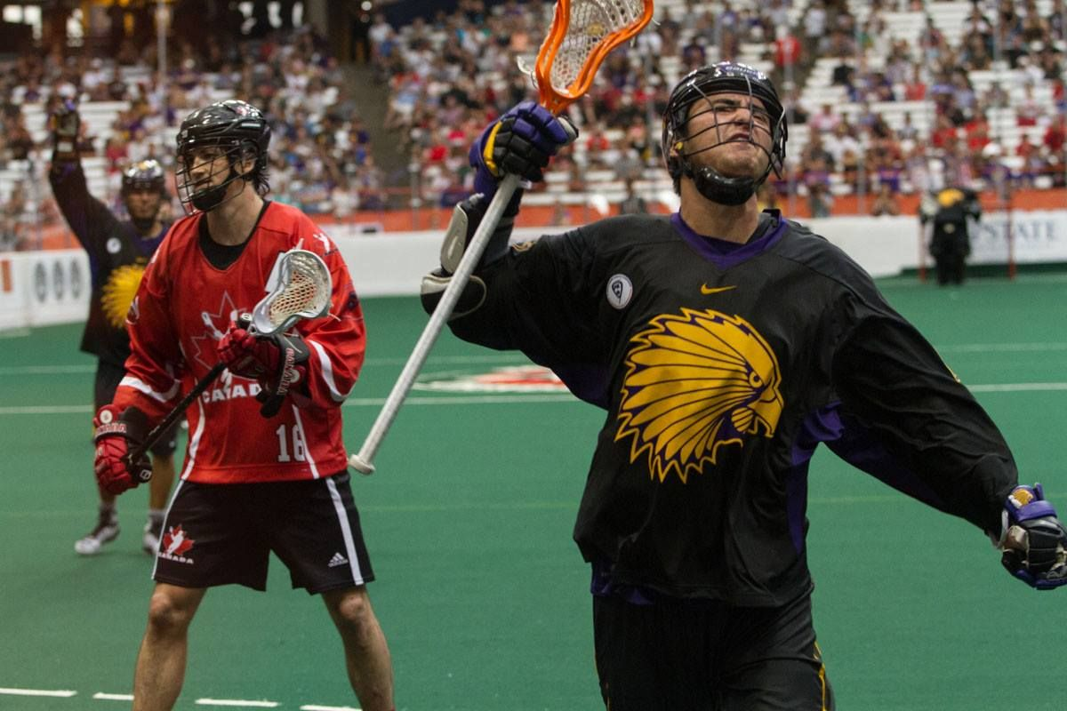 Doug George Kanentiio Iroquois Nationals Score Silver At Games Lacrosse Team Box Lacrosse Lacrosse
