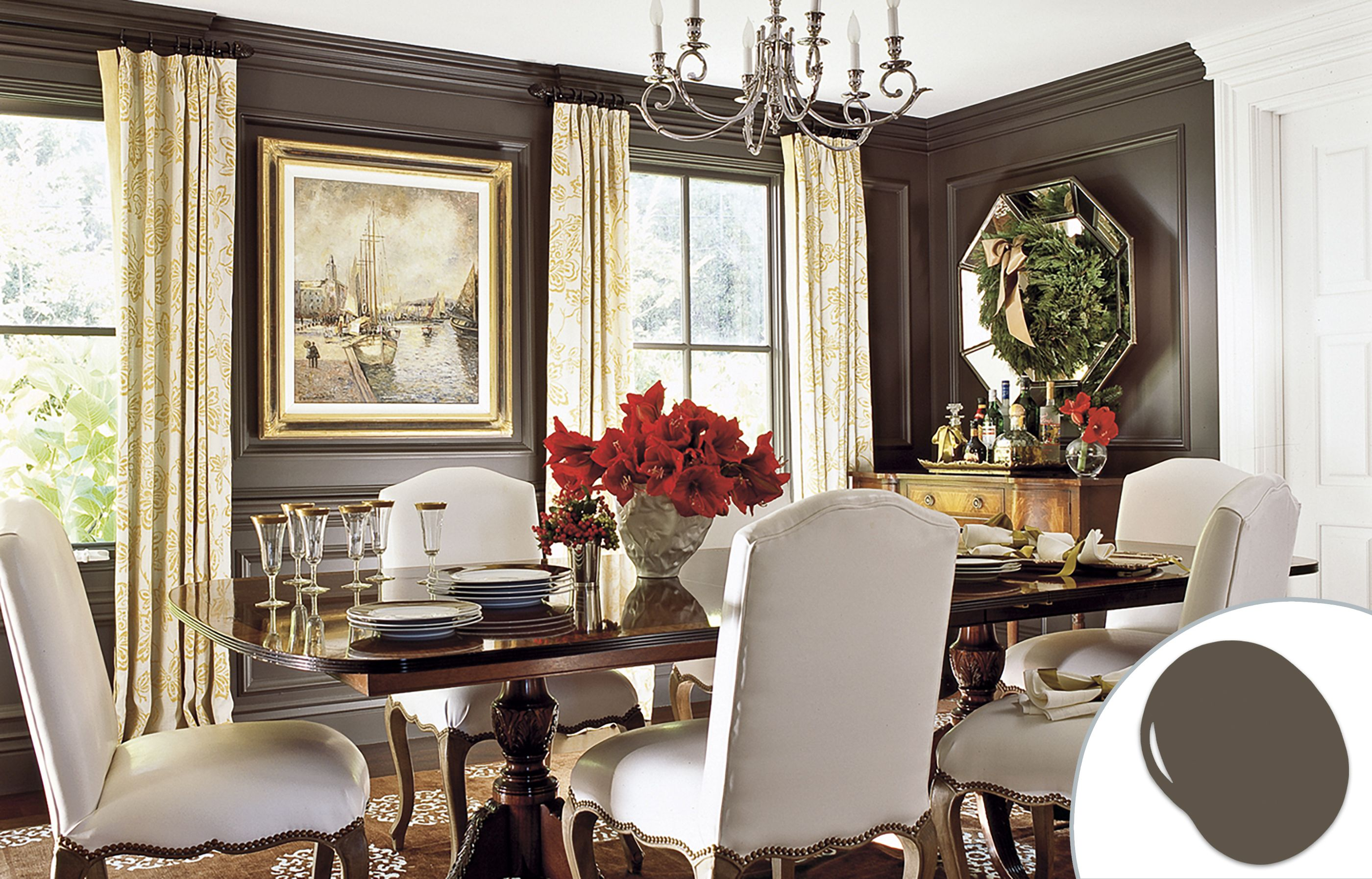 Room Best Colors for Dining Room Drama