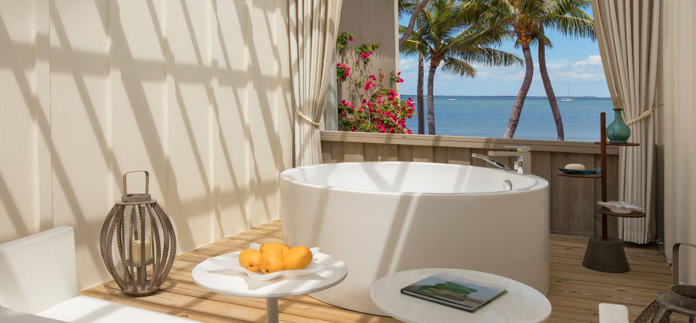 Key largo hotels beachfront bungalow bungalows key