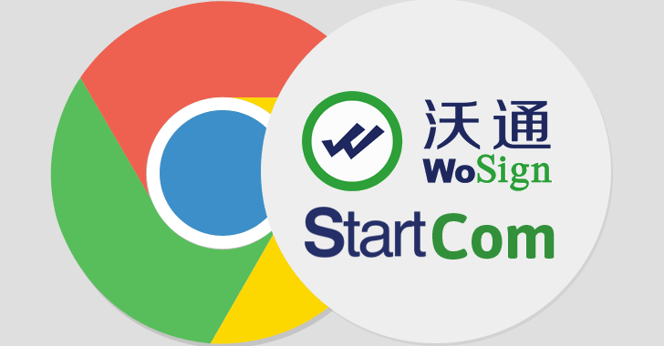 Google Chrome Bans Chinese SSL Certificate Authorities WoSign and StartCom