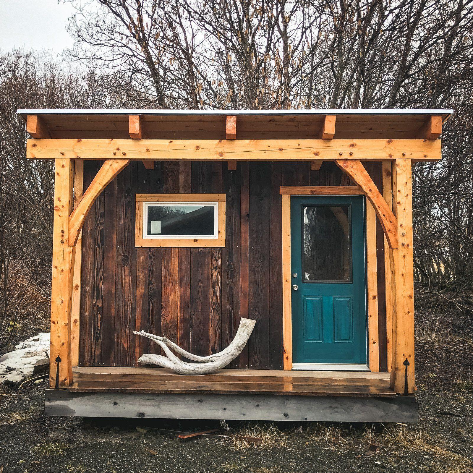 Sauna Spruce And Shou Sugi Ban Fir Outdoor Sauna Black House Exterior Sauna