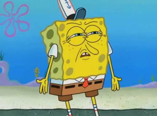 23 SpongeBob Reactions For Everyday Situations