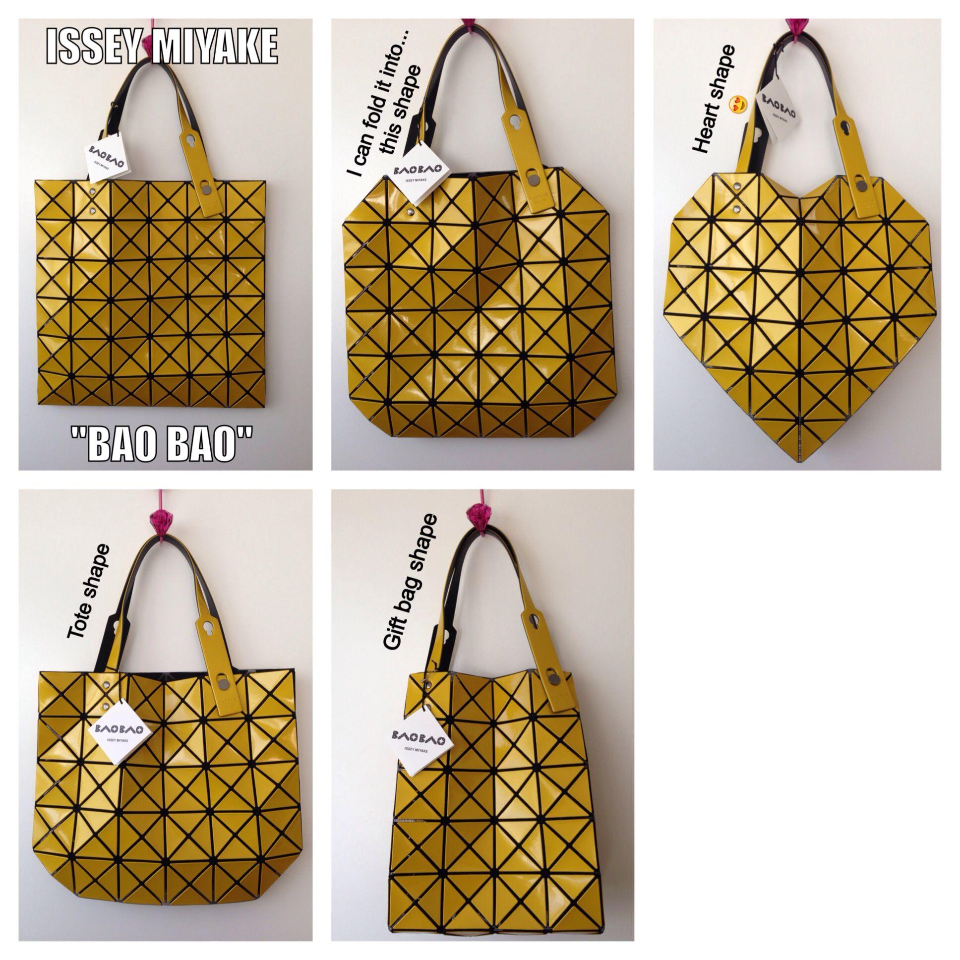 Issey Miyake Bao Bao Foldable bag  8f170d49226df