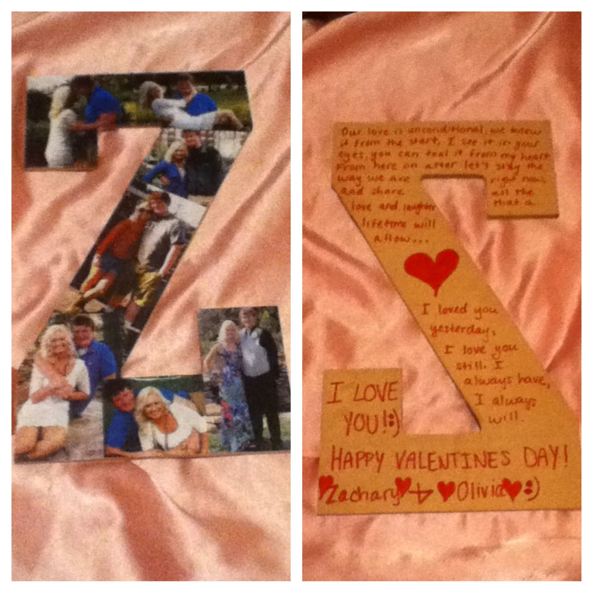 The Valentines Day Present I Made For My Boyfriend))