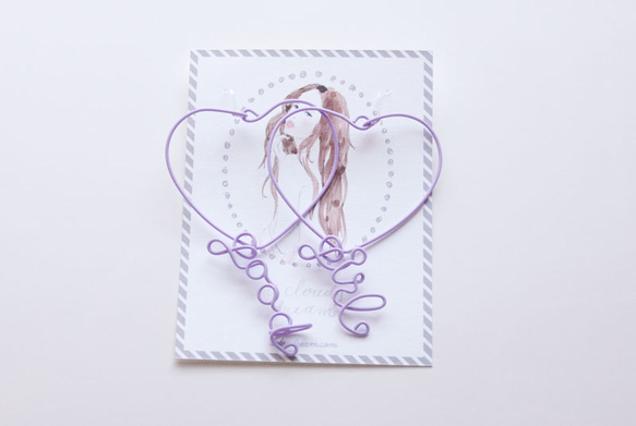 Purple wire pierce good girl