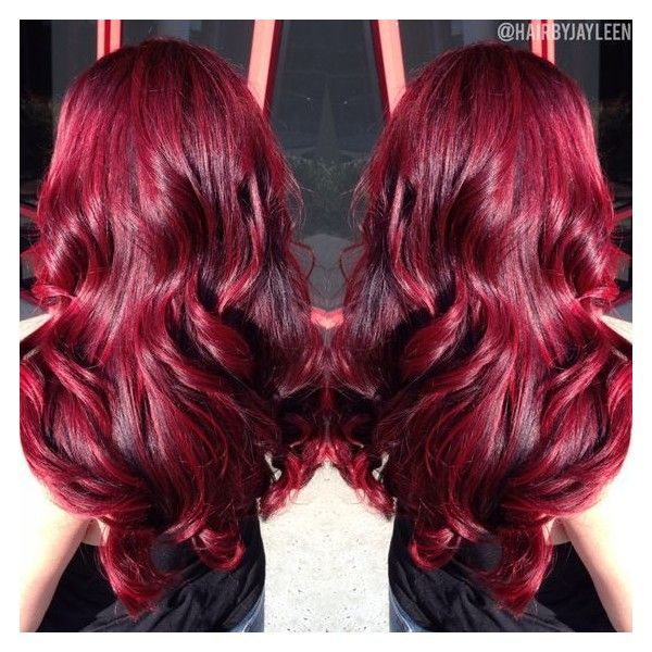 Curly Red Hair Liked On Polyvore Featuring Beauty Products