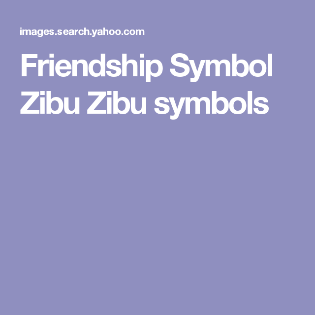 Friendship Symbol Zibu Images Free Symbol And Sign Meaning
