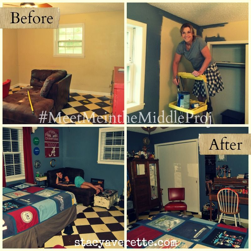 Meet me in the middle decorating bedroom