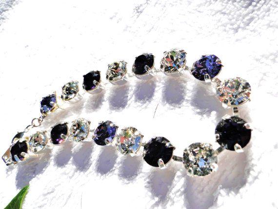 Brilliant Sparkling Bracelet by jlisiecki on Etsy, $35.00