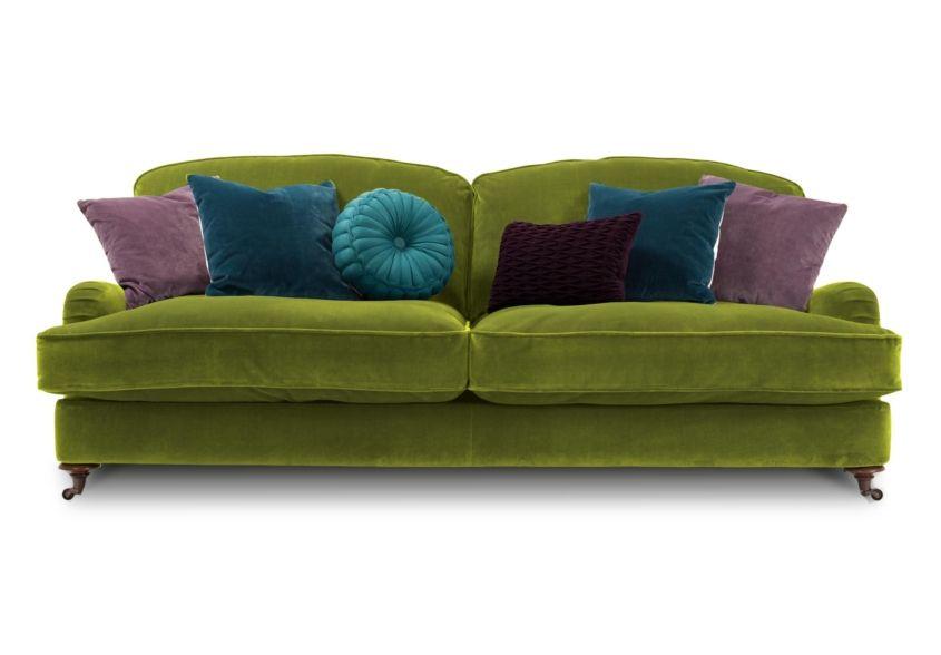 Isabelle 3 Seater Sofa Harlequin Sofa Sets Sofas Free Delivery Furniture Village Purple Sofa Furniture Full Grain Leather Sofa