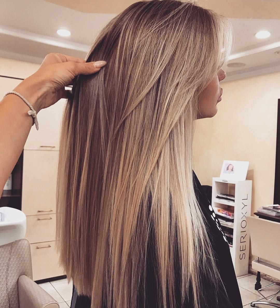 """Hello Hair Natural Haircare ™ on Instagram: """"That super sleek mane though! Doesn't this one via @oksana_lioda just look so flawless? 🙌  #HelloHair products can help you achieve your…"""" – balayage hair"""