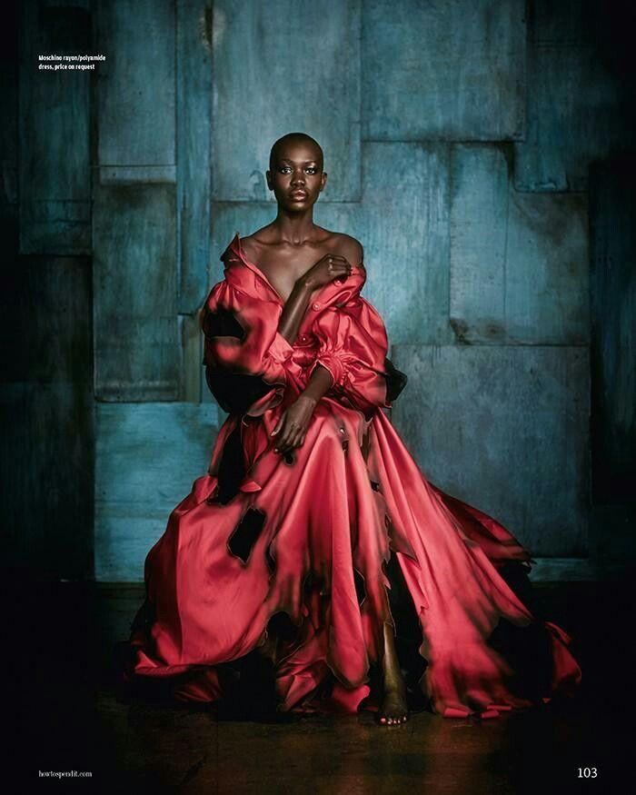 Fierce fashion models Nykhor Paul en Mari Agory photography by Damian Foxe photography