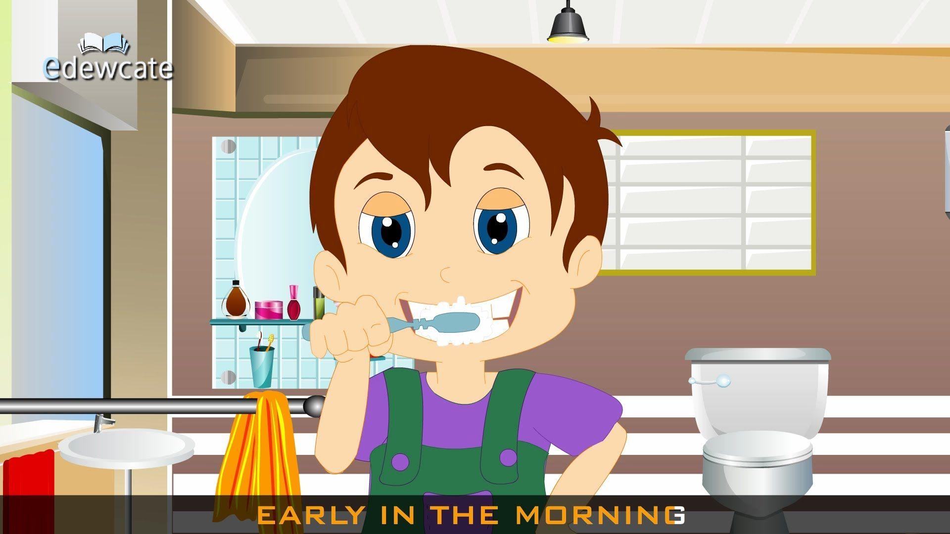 Brush Brush Brush Your Teeth Nursery Rhyme