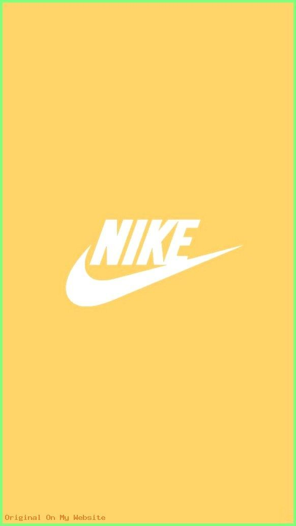 Iphone Wallpapers Tumblr - nike yellow background - follow shannon shaw for more like this ☻ ...