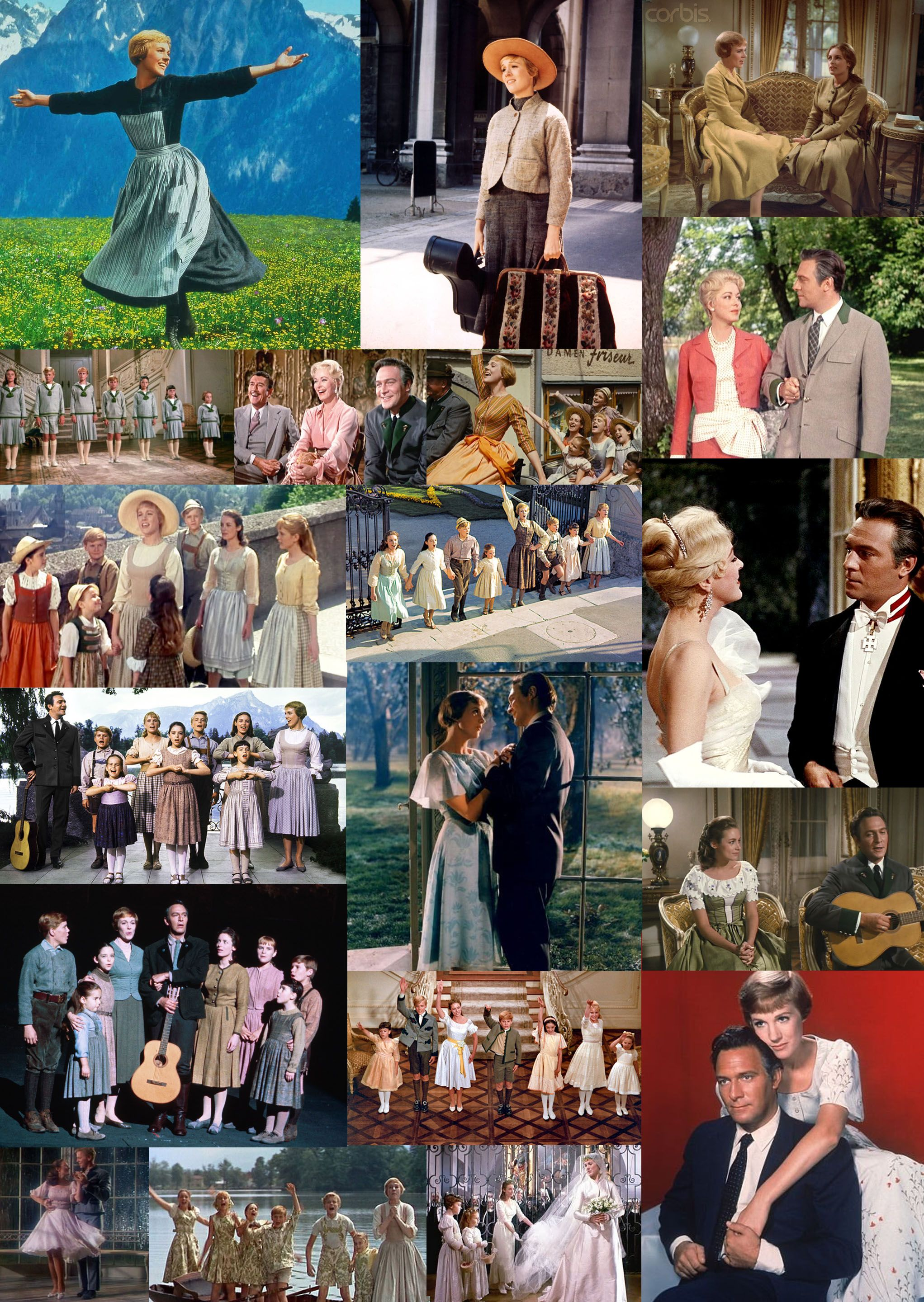 The Sound Of Music 1965 Starring Julie Andrews And Christopher Plummer Sound Of Music Musical Movies Music Love