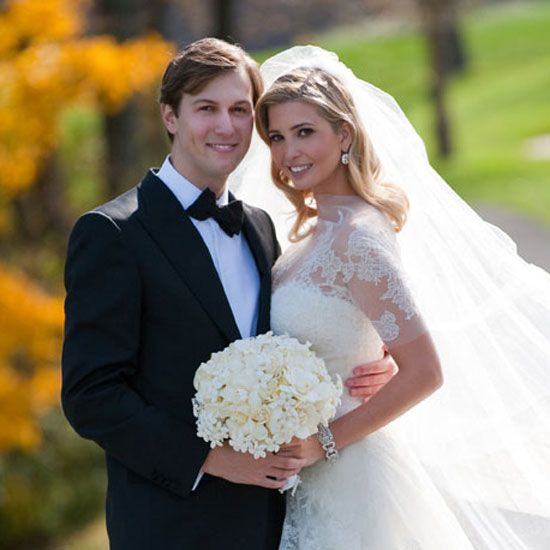 The Ultimate Celebrity Wedding Gallery Ivanka Trump Wedding Dress Ivanka Trump Wedding Trump Wedding