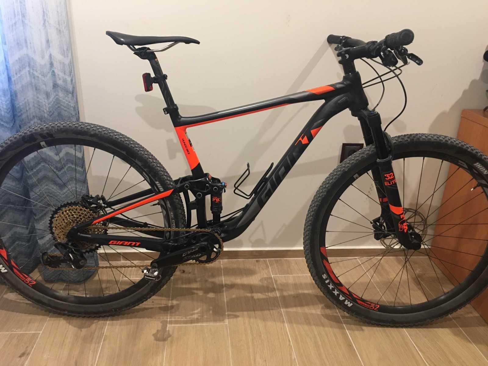 Bicicleta De Montaña Giant Anthem Ref 43927 Talla L Año 2018 Cambio Sram Gx Eagle Cuadro De Aluminio Suspensió Bicicletas Bmx Bicicletas Bicicleta Cross