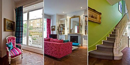 Colorful Home Interior On Portland Road In London Awesome Design