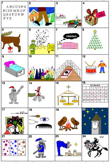 Big image Christmas carols songs, Christmas carol quiz