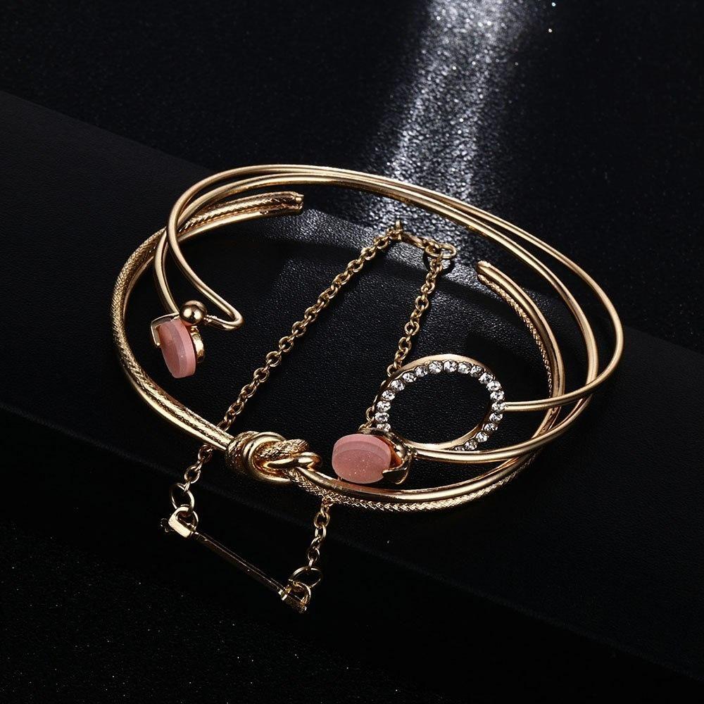 Bohémien Argent Antique Déclaration Charme Femmes Cuff Bangle Bracelet jewelrygifts!