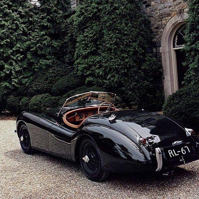 Ralph Lauren's 1950 Jaguar XK120 Via #tokyo-bleep @tumblr