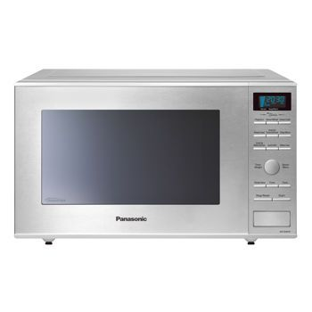 The Is A Deluxe Stainless Steel Microwave Featuring Panasonic S Unique Inverter Technology Which Supplies Constant In High Medium And Low Settings