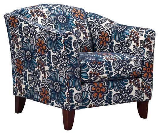 Best Darling Blue Accent Chair Art Van Furniture Mattress 400 x 300