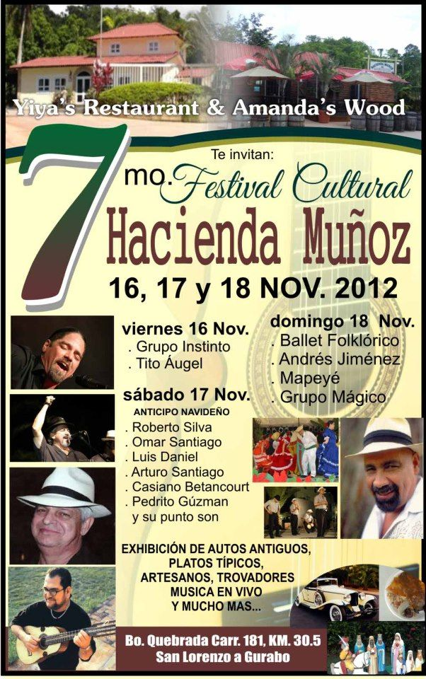 Festival Cultural Hacienda Muñoz 2012.