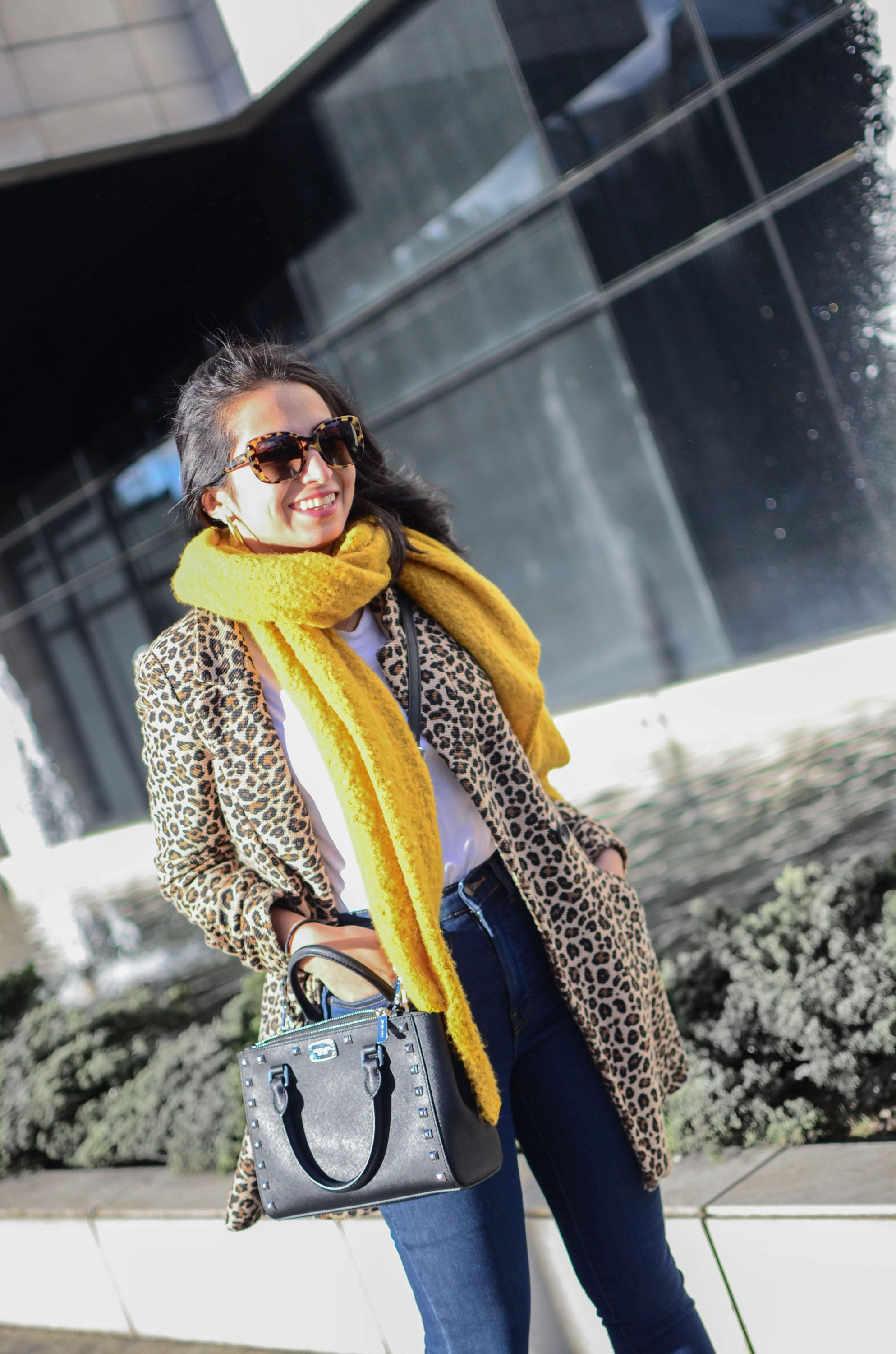 Run Errands In Style All You Need Is A Leopard Coat Cur Situation Running Looking Good Without Toooo Much Effort
