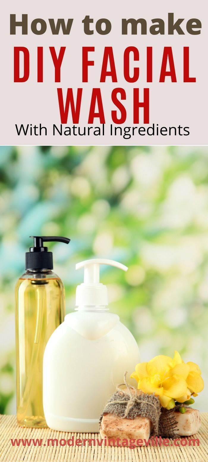 Photo of Recipes of homemade facial cleansers