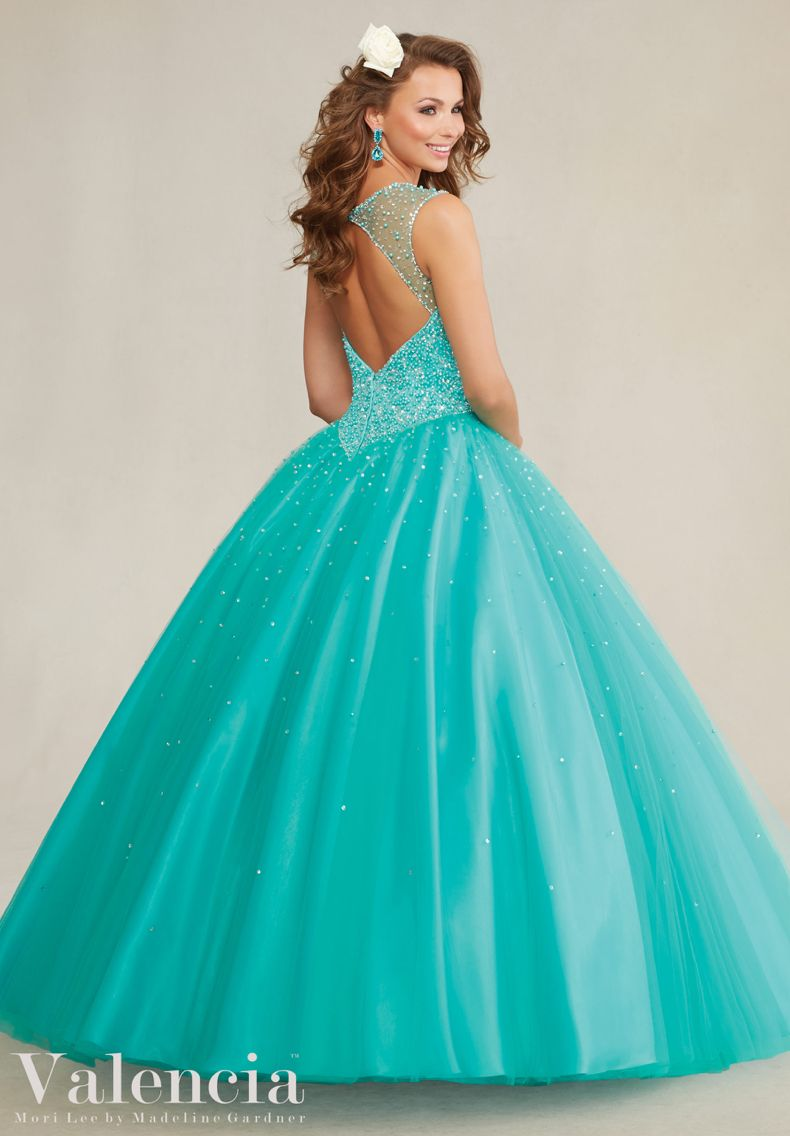 Quincianera Dress Valencia Morilee Quinceanera dress 89081 Beaded ...