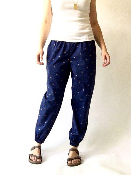 Luna Pants Sewing Pattern PDF | Pinterest | Konfektion, Hose nähen ...